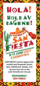 SAN Fiesta Hold av dagene!